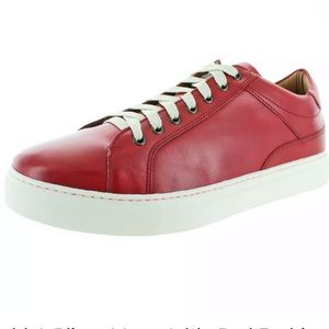 Donald J. Pliner-Addo Red Fashion Sneakers  7.5